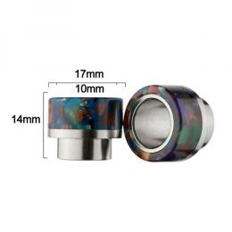 Type #1 Resin & Stainless Drip Tip for Smok TFV8,810 レジン&ステンレス ドリップチップ